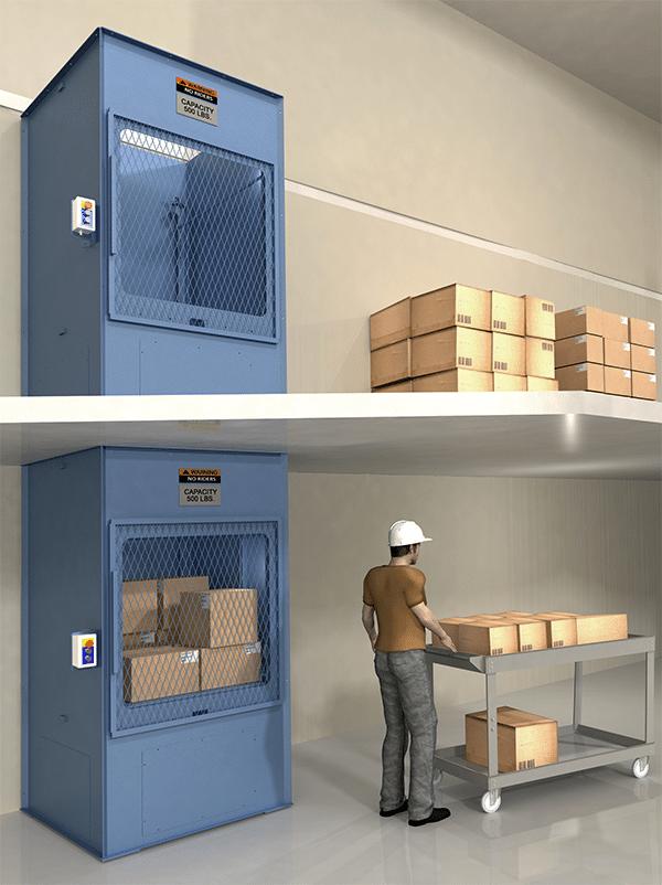PFlow B Series box lift